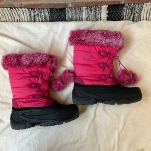Kamik Women's Winter Snow Boots Pink Size 6